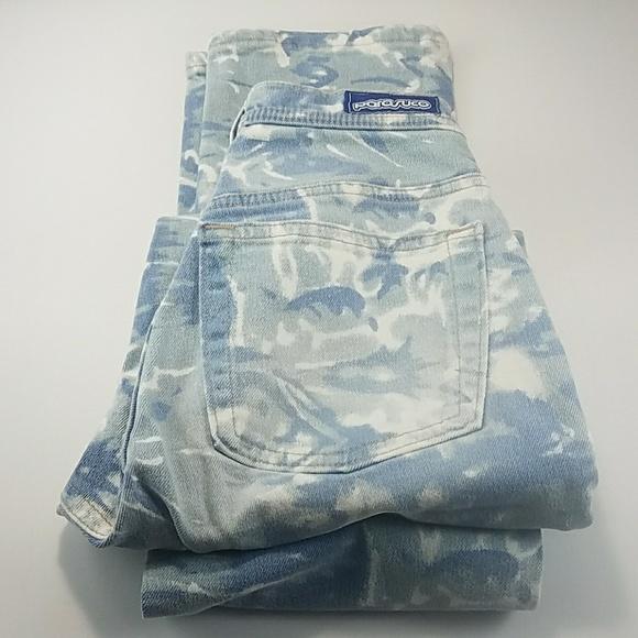 Parasuco Denim - Parasuco Street Couture Blue Camo Jeans